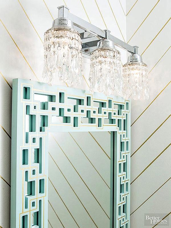 Diy Crystal Vanity Light Shades Cuckoo4design