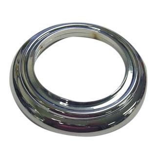 chrome spout cover used for DIY crystal vanity light shades