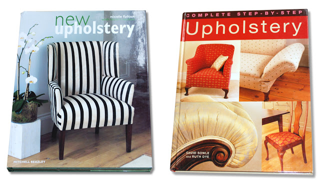 new upholstery and complete step-by-step upholstery
