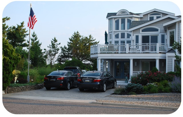 beach front home in Avalon NJ 74th street