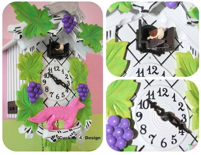 colorful cuckoo clock for a child