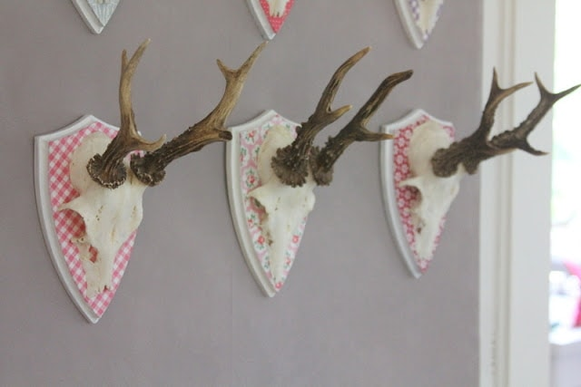 plaid German antlers