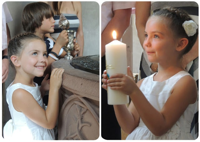 Lilly's baptism in Lohr