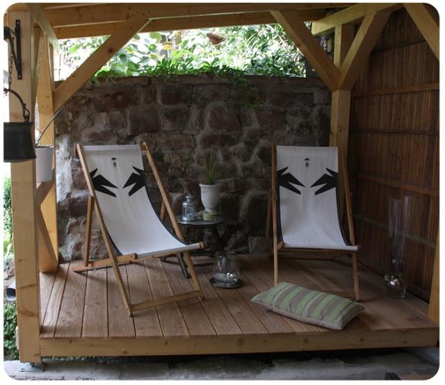 covered patio Muschelgasse