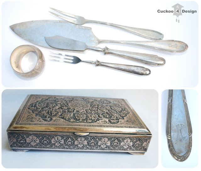 antique silverware from Germany and Turkey