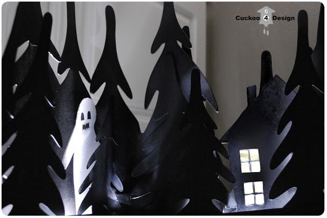 Ikea Strala Halloween haunted woods light hack