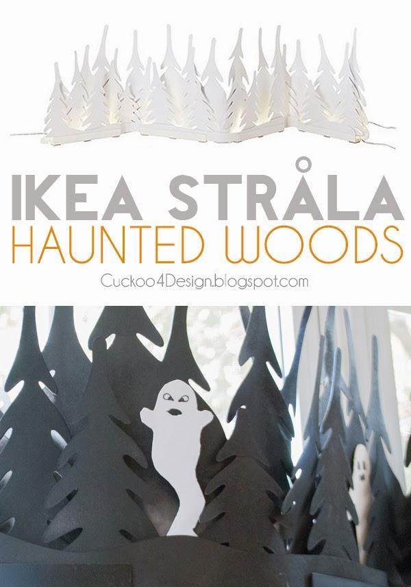 Ikea Stråla Haunted Woods Hack by cuckoo4design