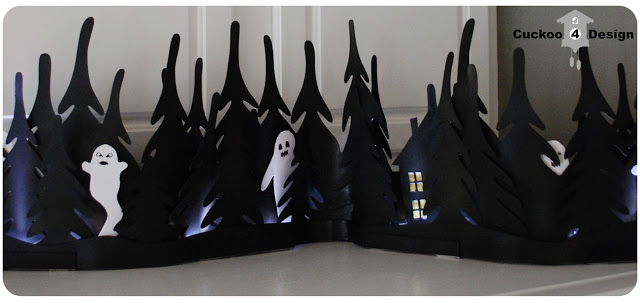 Ikea Strala Halloween light hack