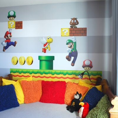 Mario Brothers room idea