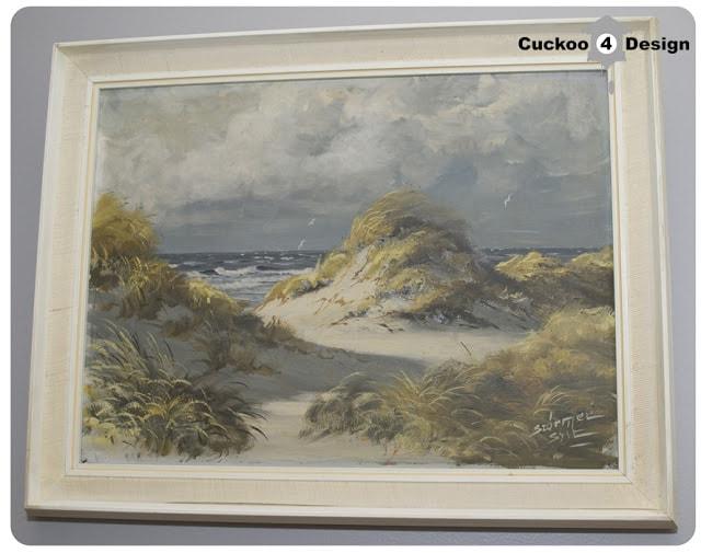 ocean dune oil painting