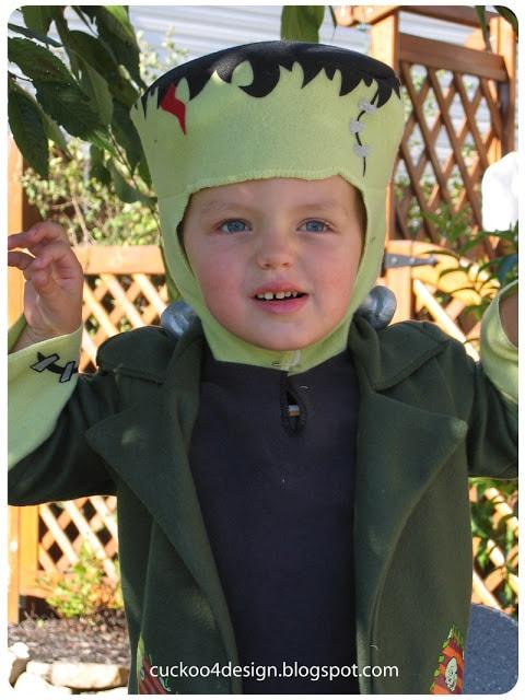 Toddler Frankenstein