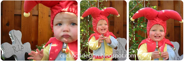 Toddler Jester Costume