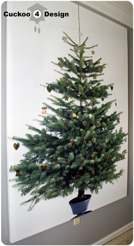 ikea margareta christmas tree canvas cuckoo4design. Black Bedroom Furniture Sets. Home Design Ideas