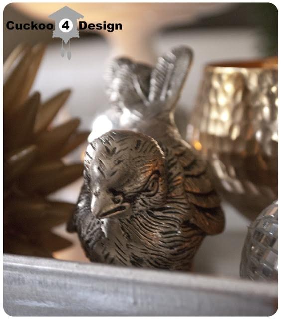 Silver HomeGoods bird