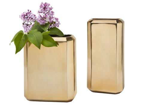 Target Nate Berkus gold vases