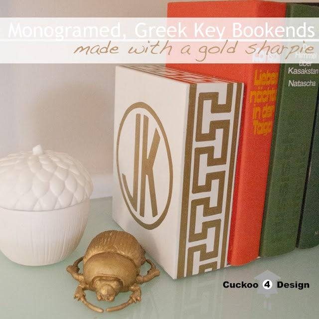 DIY greek key project by cuckoo4design