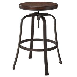 industrial style Dakota swivel stool from Target