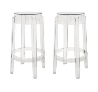 lucite/acrylic counter stools