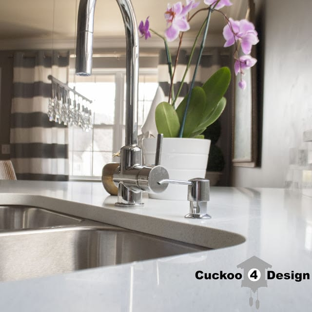 white sparkly countertops by Zumrut Granite for cuckoo4design