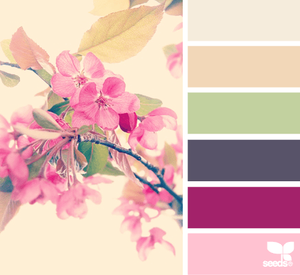 Having Fun With A Spring Mood Board Cuckoo4design