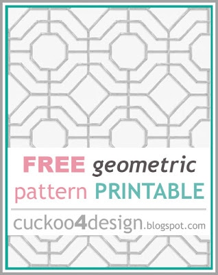 free printable geometric pattern