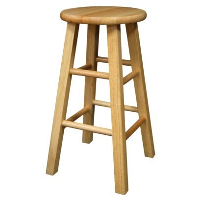 Wondrous Wooden Counter Stool Makeover Cuckoo4Design Caraccident5 Cool Chair Designs And Ideas Caraccident5Info