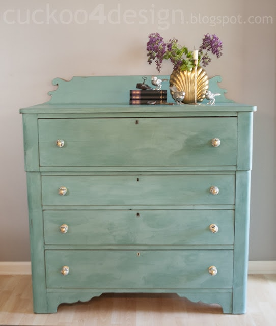 CeCe Clawell's Destin Golf Green dresser