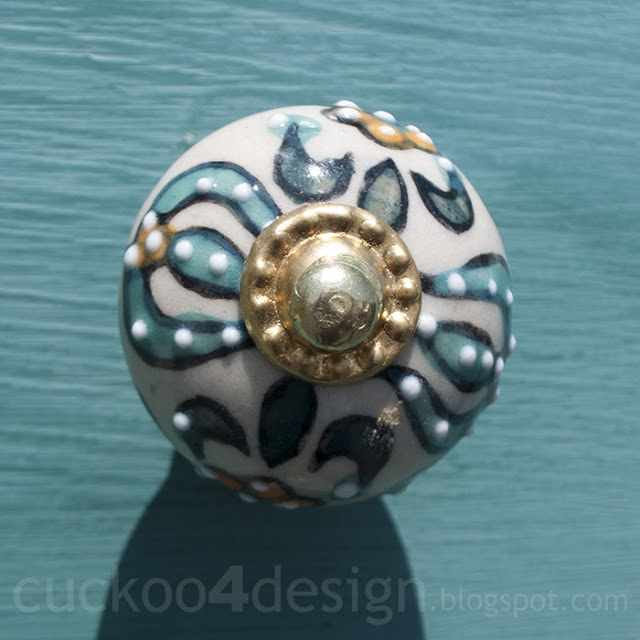 blue green and gold hobby lobby knobs