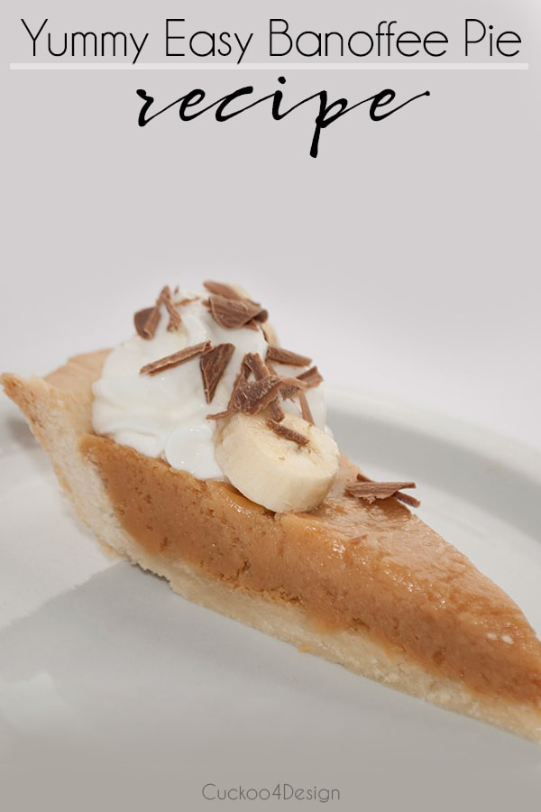 best easy banoffee pie recipe