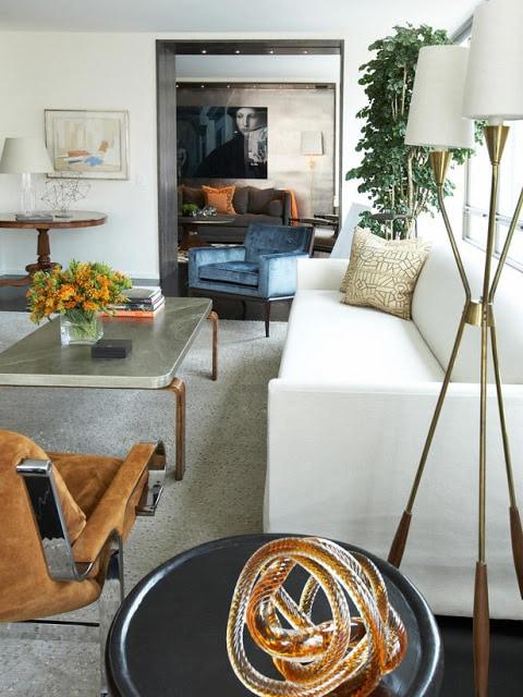 living room metallic mixture