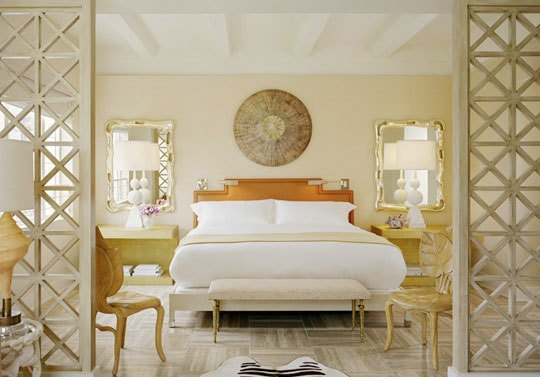 On my mind monday mixing gold and silver in a room for Gold and white bedroom designs