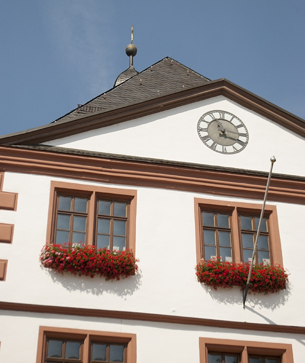 historical city hall in Lohr am Main