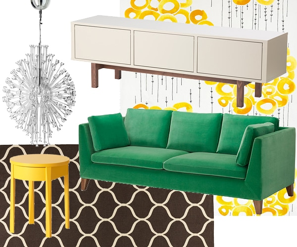 Decorating with ikea archives cuckoo4design - Design living room decoration ikea ...