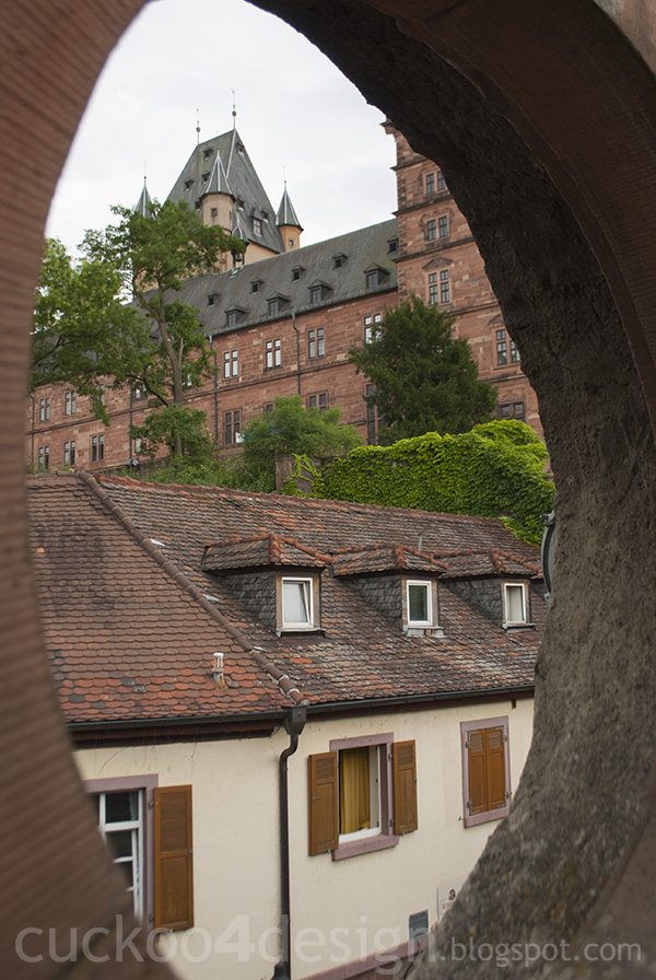 castle in Aschaffenburg