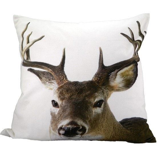 animal head throw pillow covers cuckoo4design. Black Bedroom Furniture Sets. Home Design Ideas
