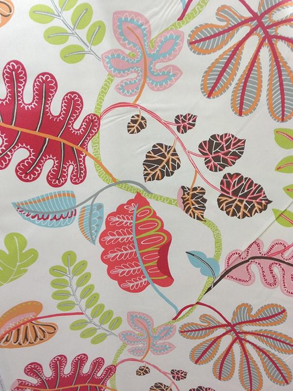 floral, leaf fabric