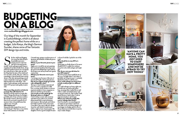 magazine feature cuckoo4design