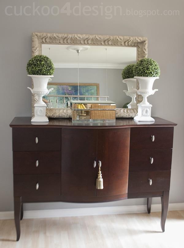 Sideboard changes cuckoo4design for Miroir buffet