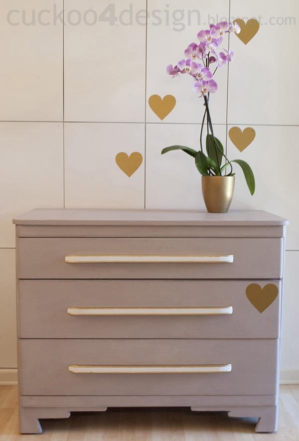 Modern Oak Dresser Makeover Cuckoo4design