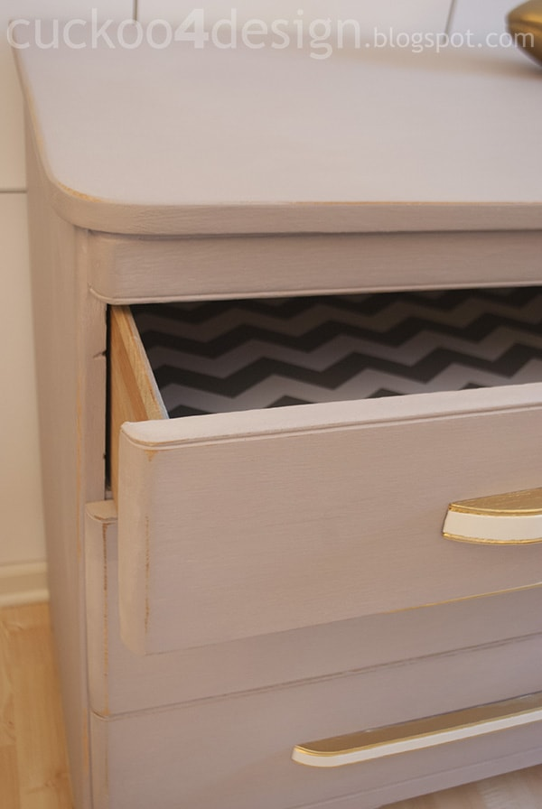 modern oak dresser drawer detail by cuckoo4design
