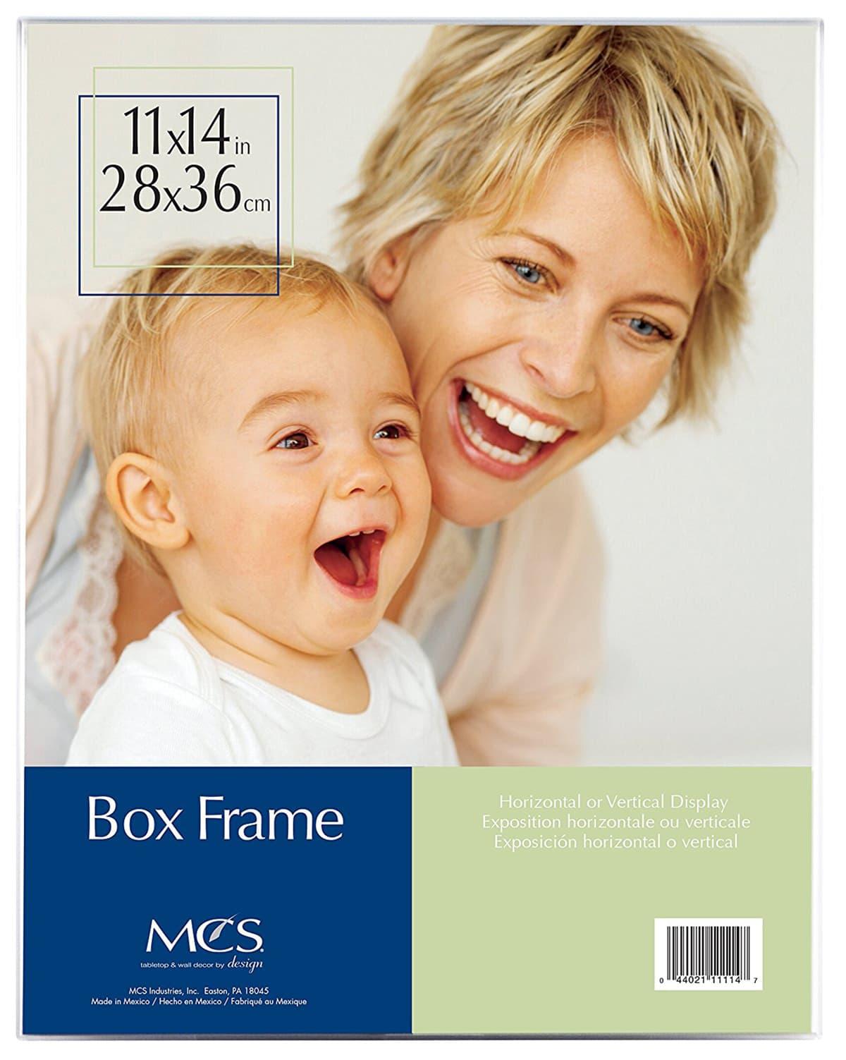 11x14 acrylic box frame