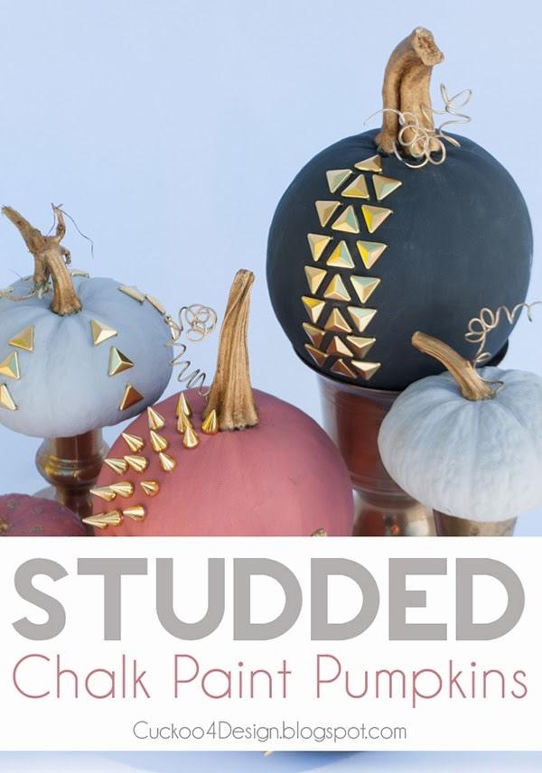 Annie Sloan chalk paint pumpkin collection by cuckoo4design