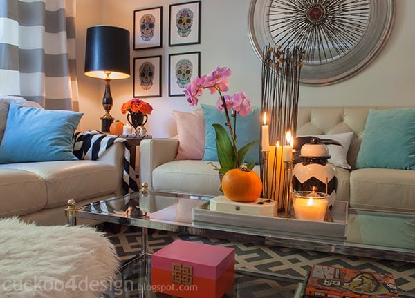 Halloween living room by Cuckoo4Design