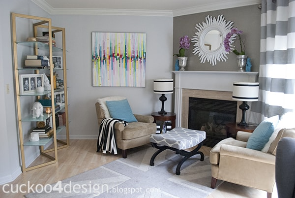 living room by cuckoo4design
