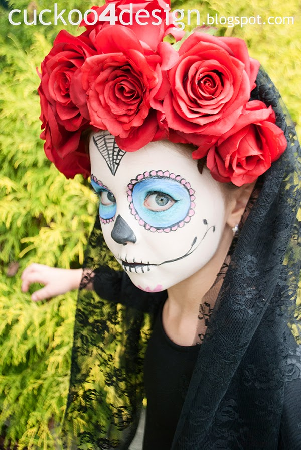 sugar skull costume diy