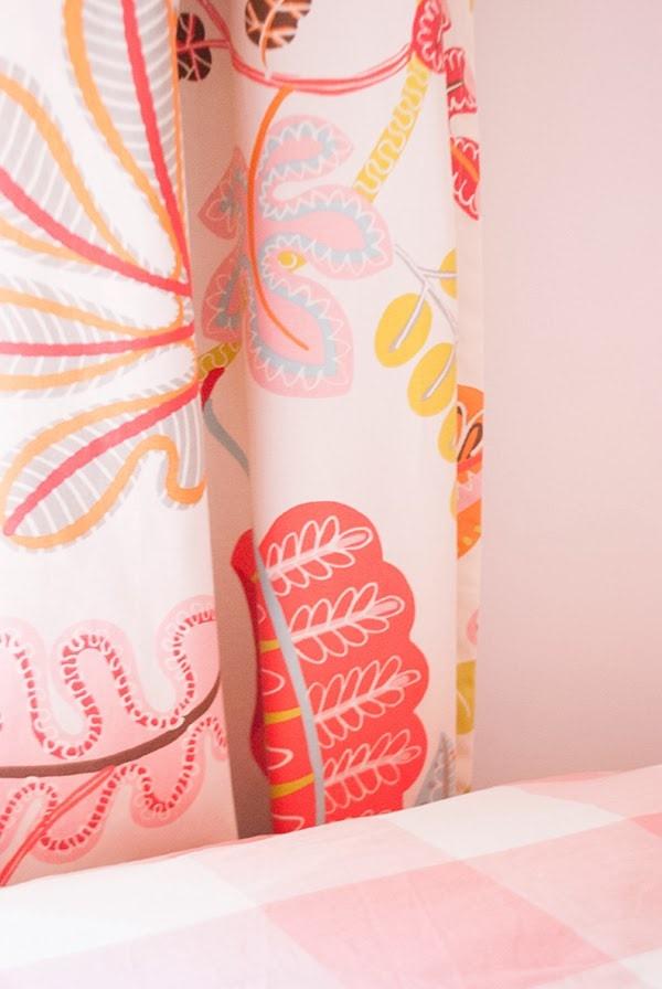 Waverly Fabric - A New Leaf Flamingo
