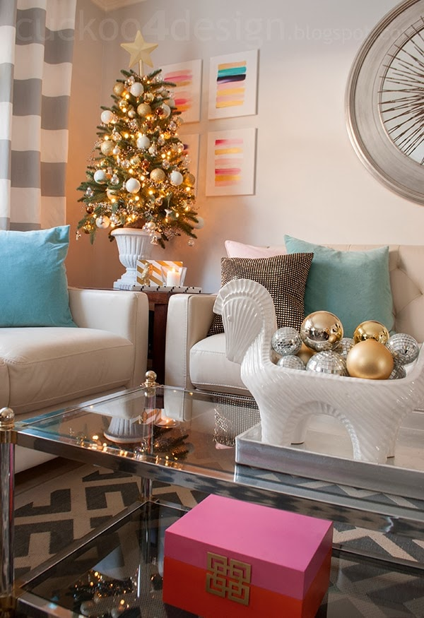 Christmas Decor Ideas by Cuckoo4Design
