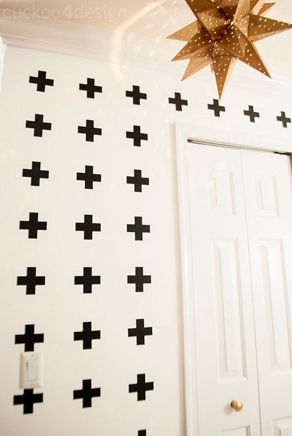 Pia Wallen Cross blanket inspired wall