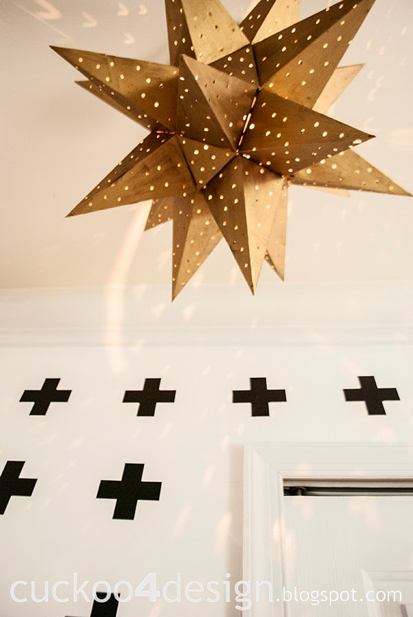 swiss cross wall vinyl wall treatment