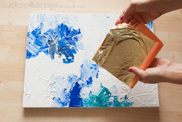 Diy Abstract Artwork Tutorial Cuckoo4design